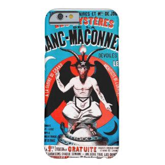 Art vintage de Baphomet sur le cas de l'iPhone 6.