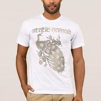 Art vintage de carte - blanc t-shirt