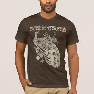 Art vintage de carte - Brown T-shirt
