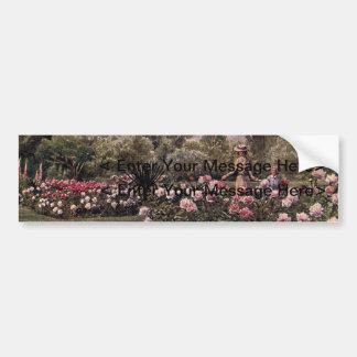 Art vintage de jardin - Martin, faucheur de Thomas Autocollant Pour Voiture