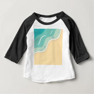 Art vintage de mandala de concepteurs : blanc noir t-shirt pour bébé