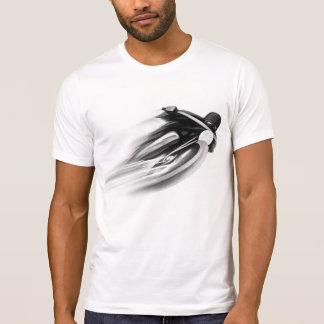 ART VINTAGE de MOTO T-SHIRTS black et blanc