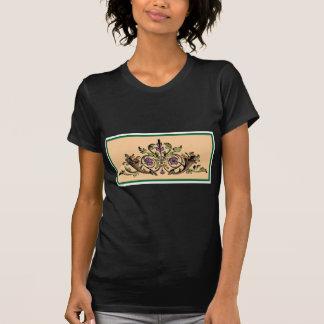 Art vintage de thanksgiving de corne d'abondance t-shirts