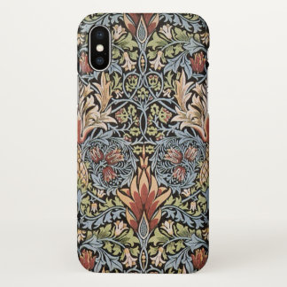 Art vintage GalleryHD de William Morris Snakeshead Coque iPhone X
