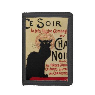 Art vintage Nouveau, chat noir Noir de