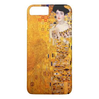 Art vintage Nouveau de Gustav Klimt Adele Coque iPhone 7 Plus
