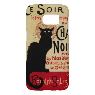 Art vintage Nouveau, Le Chat Noir Coque Samsung Galaxy S7