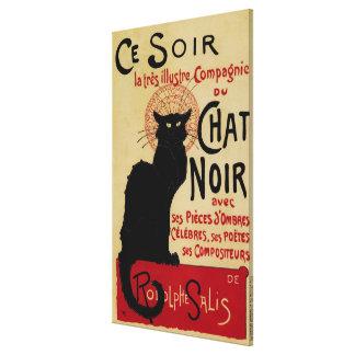 Art vintage Nouveau, Le Chat Noir Toiles