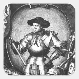 Arthur III de la Bretagne Sticker Carré
