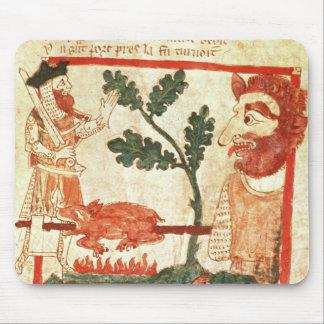 Arthur rencontre la torréfaction géante un porc su tapis de souris