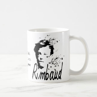 Arthur Rimbaud Bonne Pensée du Matin Poem Mug