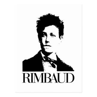 Arthur Rimbaud Carte Postale