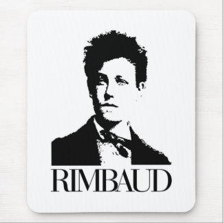 Arthur Rimbaud Tapis De Souris