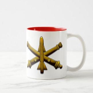 Artillerie Drinkware de défense aérien Tasse 2 Couleurs