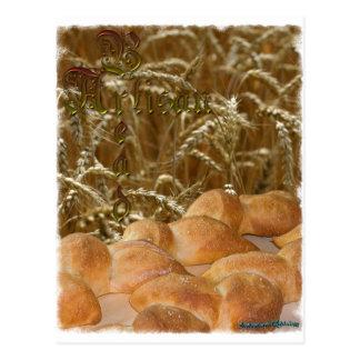 Artisan de pain carte postale