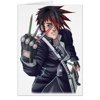 Artiste de Manga d'Anime Cartes