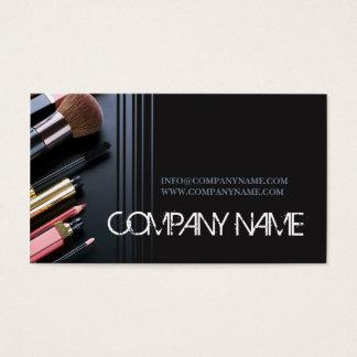 Artiste de maquillage de cosmétologie de cartes de visite