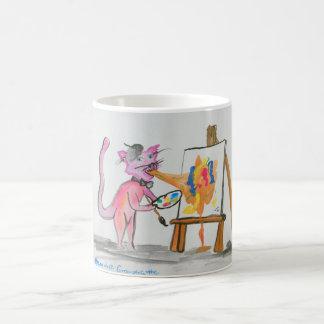 Artiste de vomi de chat mug