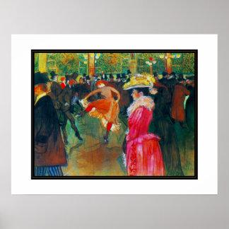 Artistes célèbres Henri De Toulouse Lautrec d'affi Affiche