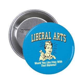 Arts libéraux : Fritures de goût avec le diplôme Badge