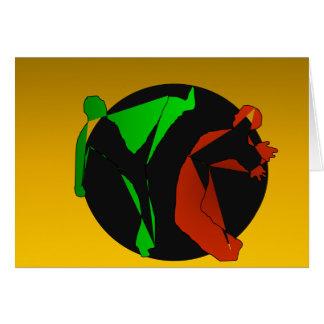 arts martiaux obtenus de capoeira carte