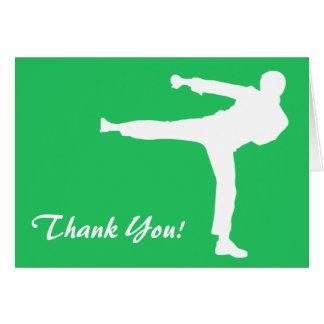 Arts martiaux verts de Kelly Cartes De Vœux