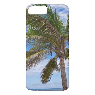 Aruba, palmier sur la plage coque iPhone 7 plus