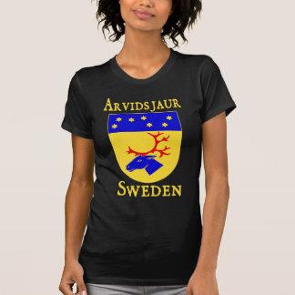 Arvidsjaur, Suède (Sverige) T-shirt