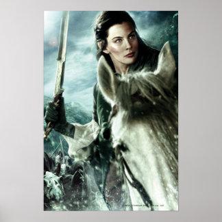 ARWEN™ dans la neige et l'épée Posters