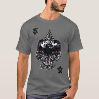 As de Batman de crête gothique des espaces T-shirt