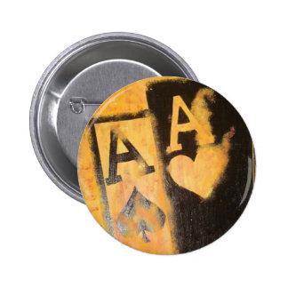 As de Burnig Badge