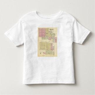 Ashland et Wahoo, Nébraska T-shirt Pour Les Tous Petits