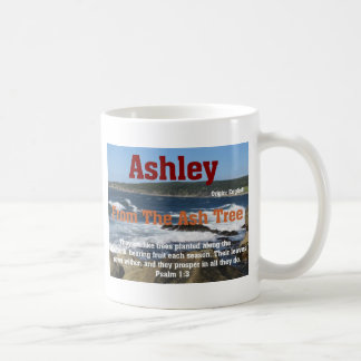 Ashley Mug Blanc