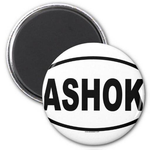 ASHOK MAGNET ROND 8 CM