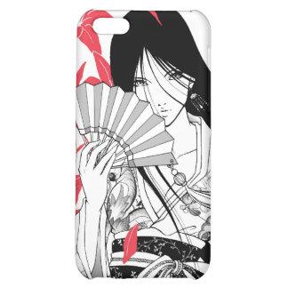 Asiatique japonais d'Anime de geisha de kimono Coque Pour iPhone 5C