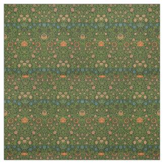 Asiatique vert rouge de tapis de couverture de tissu