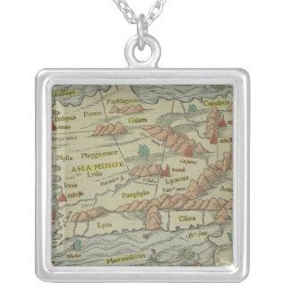 Asie mineure pendentif carré