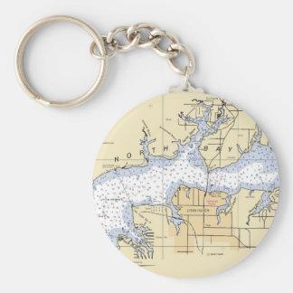 Asile du nord de Lynn de baie, clés nautiques de Porte-clé Rond