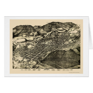 Aspen, carte panoramique de Co - 1893