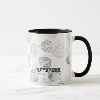Aspen occidentale part du monogramme mug
