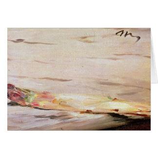 Asperge de Manet |, 1880 Carte De Vœux