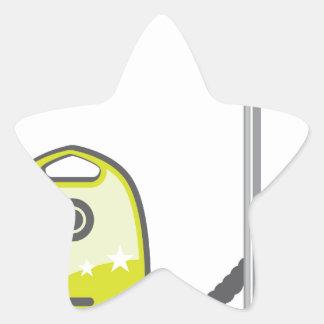 Aspirateur Sticker Étoile