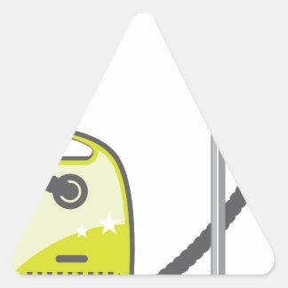 Aspirateur Sticker Triangulaire