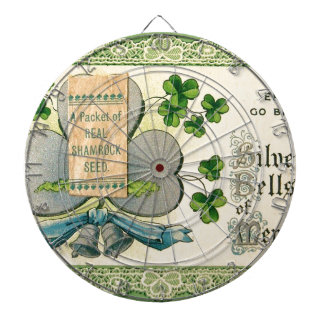 Aspiration vintage d'Irlandais du jour de St Jeux De Fléchettes