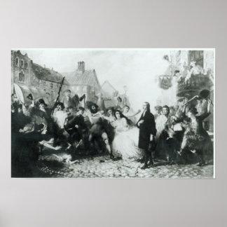 Assaillir de John Wesley chez Wednesbury Posters