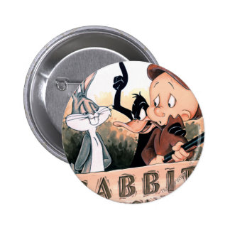 Assaisonnement LOONEY de lapin de TUNES™ Badge Rond 5 Cm