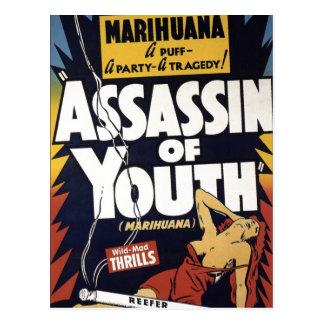 """""""Assassin carte postale de jeunesse"""""""