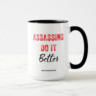 Assassin il améliorent la tasse de café