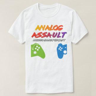 Assaut analogue Podcast (chemise légère) T-shirt