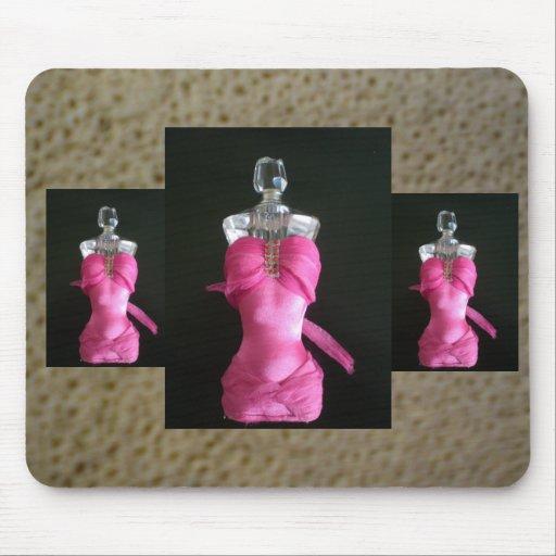 assez dans la bouteille de parfum rose tapis de souris zazzle. Black Bedroom Furniture Sets. Home Design Ideas